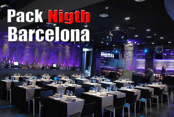 Pack Barcelona Nigth