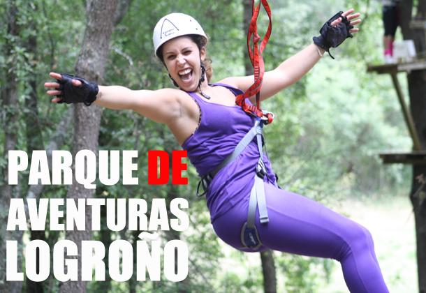 Parque de aventura Logroño