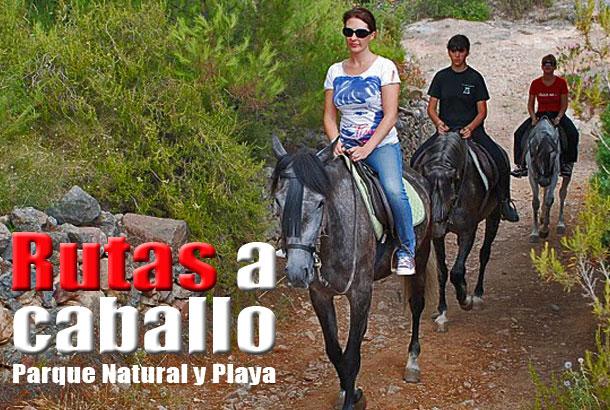 Paseo a caballo parque y Playa