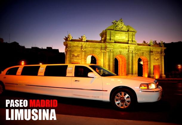 Paseo en Limusina por Madrid