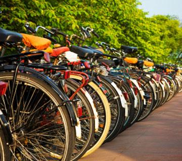 Visita guiada en bici por Amsterdam