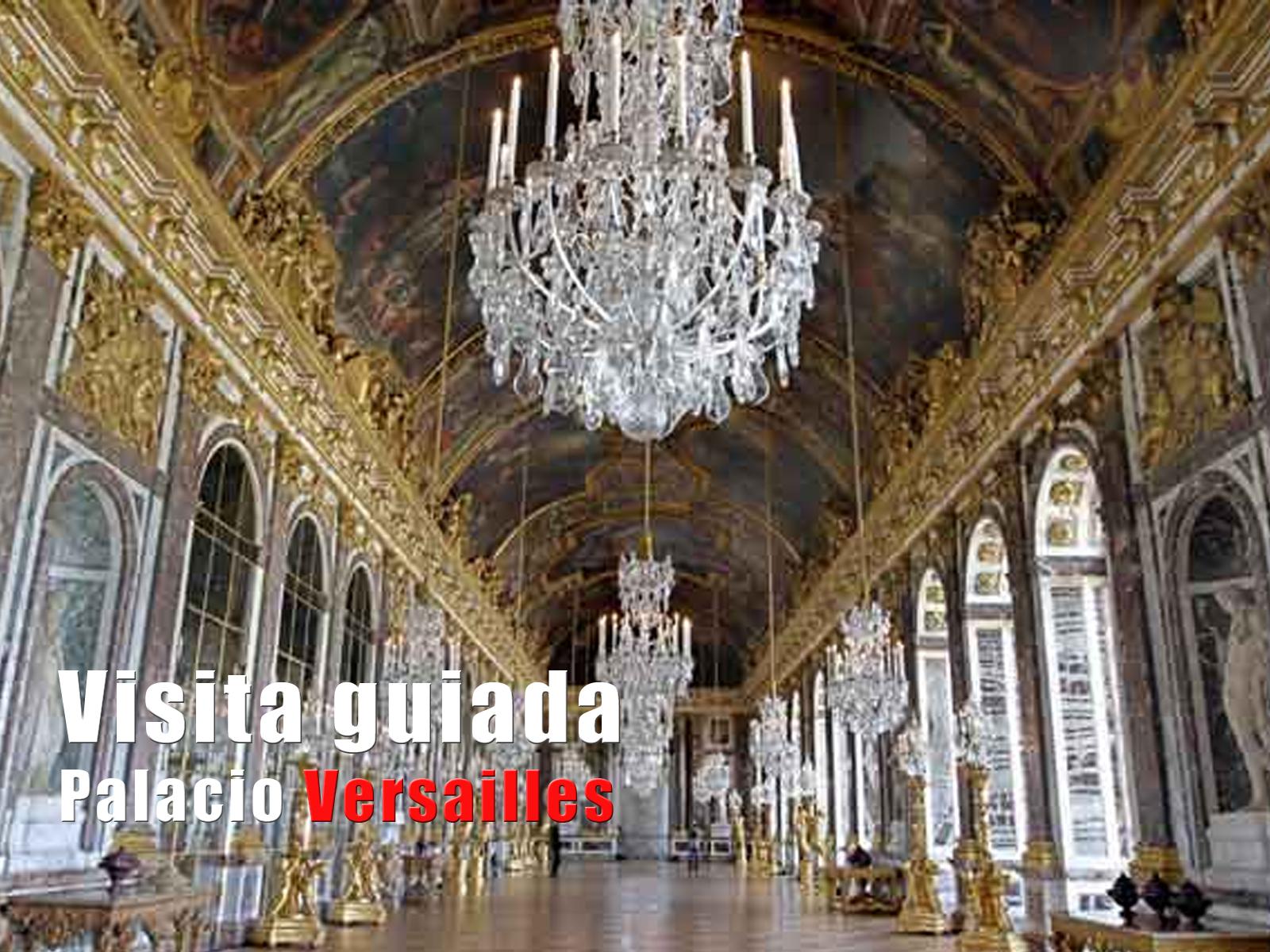 Visita guiada Palacio de Versailles