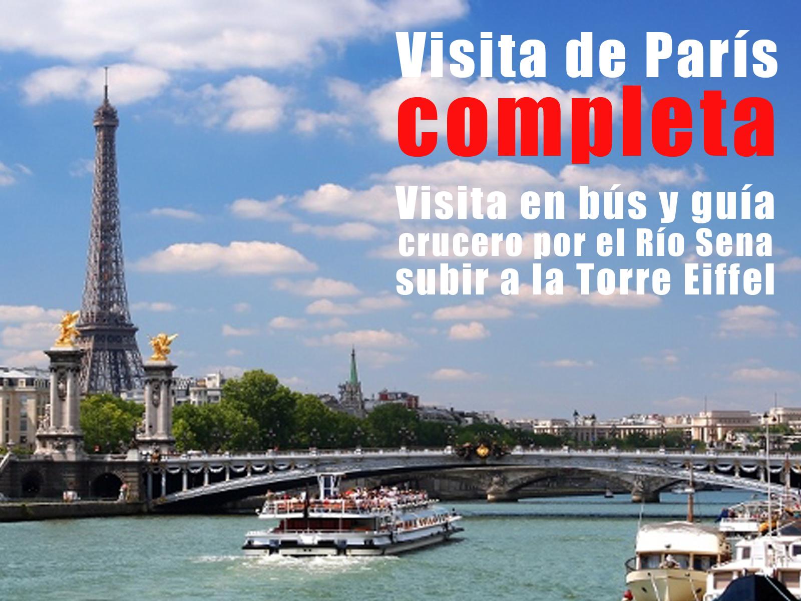 Visita París completa